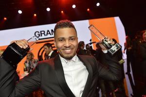 Erik Lundin vann pris i kategorierna årets textförfattare och årets hiphop/soul på Grammisgalan tidigare i år.