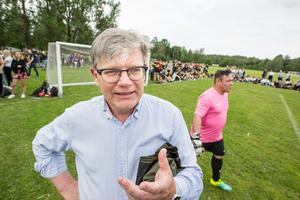 Christer Blom, lärare på Rudbecksskolan och även känd som ÖSK-statistiker, var med och startade Krampen för 46  år sedan.