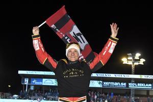 Fredrik Lindgren tog SM-guld både med Smederna och individuellt förra året. Arkivfoto: Claudio Bresciani/TT