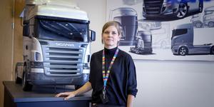 Lisa Lorentzon är ordförande i Akademikerföreningen på Scania.
