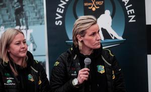 Johanna Pettersson, spelande tränare i Skutskär är en av de enskilt viktigaste anledningarna till att laget står i SM-final.