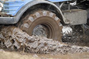 Offroad handlar bland annat om lera.