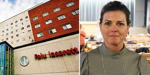 Region Dalarna och Högskolan Dalarna samarbetar för att öka antalet narkossköterskor. Men utbildning tar tid, säger regionråd Sofia Jarl (C).