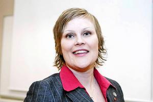 Sara Nylund (S), ordförande för samhällsnämnden i Härnösand.