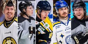 En målvakt, fyra spelare tar plats på listan. Foto: Johanna Lundberg / Bildbyrån.