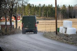 Hemvärnet sökte av mindre vägar i utkanten av Trönö.
