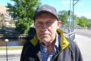 Staffan Smedberg, 71, pensionär, Sörberge