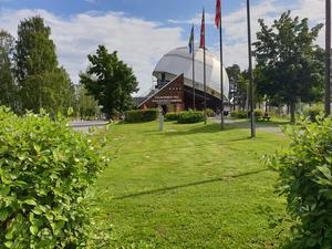 Nipstadsmarschen startade på Sollefteå camping
