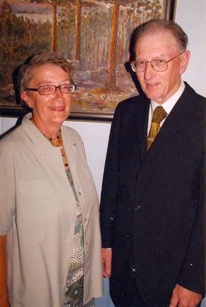 Karin och Sigvard Bodin. Foto: Privat