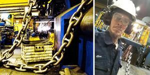 Claes Nilsson, lokal ordförande för IF Metall, tror på en framtid för bruket.