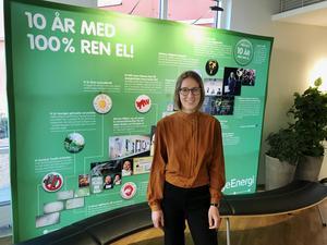 Telge energi var tidigt ute med förnybar energi. Nu vill Johline Z. Lindholm och bolaget bredda klimatperspektivet.