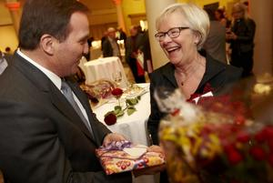 Tidigare LO-ordföranden Wanja Lundby-Wedin är en av de socialdemokratiska kyrkopolitiker som har kampanjat i årets valrörelse.