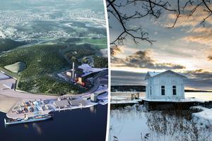 Logistikpark i Petersvik? Inte om skribenten får bestämma.Bild: Sundsvall Logistikpark AB / Jan Olby