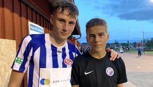 Ruben Mazzola vann syskonkampen mot lillebror Felix när Säter mötte Forssa i division 3.