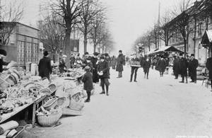 Från tidigt 1900-tal. (Bild. Örebro stadsarkiv)