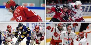 Fyra sjunde avgörande matcher genom åren i slutspel- och kvalspel för Timrå, med blandat resultat.