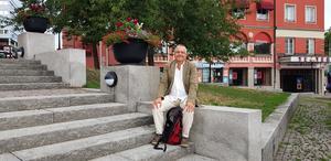 Författaren Mats Berggren har gett ut över 20 böcker.