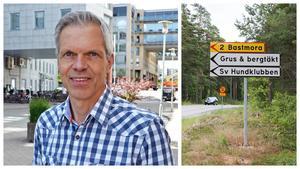 """""""När vi är klara vill vi lämna efter oss något positivt till lokalsamhället"""", säger Niklas Skoog. Jehander vill omvandla sin täkt till en helt ny stadsdel. Bild: Jehander / Mathias Jonsson"""