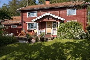 Villa i Risa med utsikt över Siljan. Foto: Andreas Timfält