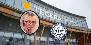"""""""Vi växlar och lägger in marknadsföring istället för logen i avtalet"""", säger Göran Wigert."""