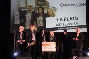 IND Studios från Ålleberg blev Årets kooperativa företag.