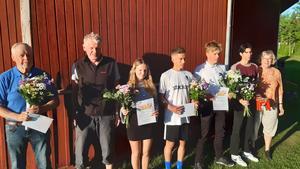 Ingemar Tallskog, Roland Thorén, Klara Andersson, Isak Olsson, Hugo Ström, Anders Danielson-Frost och Ejvor Sterner.