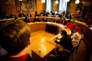 Under två timmar samtalade mötesdeltagarna om hur man kan motverka rasism och nazism.