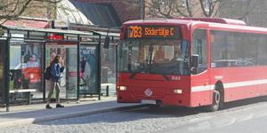 Region Stockholms trafikförvaltning föreslår att buss 783 från och med i december 2019 inte längre ska gå från Nynäshamn till Södertälje.