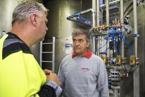 Den italienska vd:n Alvise Morin spenderar mycket tid hos dotterföretaget Marenordic i Sibo.