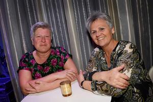 På kasinot på långfredagen fanns Inger Boman och Kerstin Vennberg, Järvsö respektive Hudiksvall.