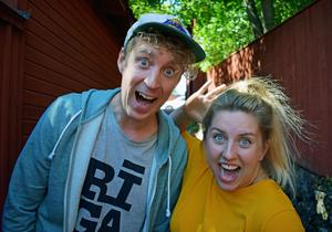 Martin Eriksson och Karolina Nordman utgör Faluduon Summer Kid.