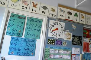 Pengarna till skolan i Västerås räcker inte till för att bli en resursförstärkning, skriver Moderaterna.