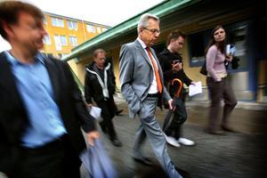 Inkluderande ledare. Med Mats Odell som partiledare kan partiet bli mer samlat och enat, skriver Tuve Skånberg. Här är han på besök i Markbacken. Arkivbild: Kicki Nilsson