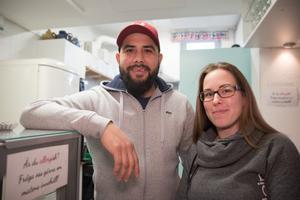 Felipe och Reka Santibanez kommer att driva Kafé Radiokakan.