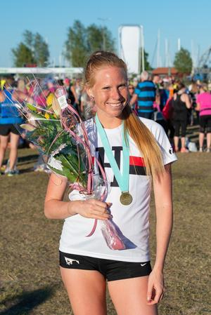 På andra plats kom Agnes Sjöström.