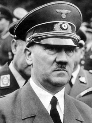 Adolf Hitler. Foto: Okänd