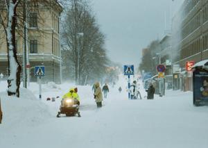 För staten redovisade kommunen att kostnaderna för konsekvenser av snöfallet, fram till maj 1999, blev 48,2 miljoner kronor.