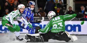 VSK räckte inte till i finalen mot Villa Lidköping. Foto: Fredrik Sandberg/TT