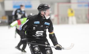 Daniel Berlin har lika stor betydelse i Sandviken som hade under åren i Bollnäs – en mäktig kraft som lagkapten och härförare – och målgörare.