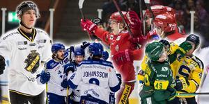 AIK, Leksand, Modo – tre lag som börjat starkt. Mer knackigt för Björklöven medan SSK motsvarar förväntningarna, tycker Hockeypuls redaktör Andreas Hanson.
