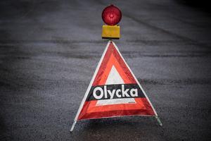 En personbil och en A-traktor kolliderade på fredagen på Bergslagsgatan/riksväg 50 i Ludvika. Obs: Bilden är tagen i ett annat sammanhang.