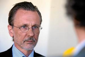 Advokat Thomas Olsson lämnade på onsdagen in överklagandet för sin nya klient, morddömde Billy Fagerström. Foto Bertil Ericson / TT