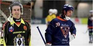 Två tunga värvningar: försvararen Anders Spinnars och måltjuven Christian Mickelsson.