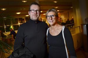 Pär och Theresia Andersson från Kovland trodde absolut att kvällen skulle bli bra.