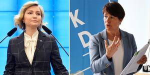 Birgitta Sacrédeus invald i KD:s partistyrelse. Foto:  Anders Wiklund/TT, Jonas Hasselqvist