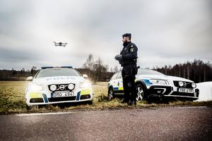 Polisen i Dalarna har nu tillgång till så kallade drönare med värmekamera.