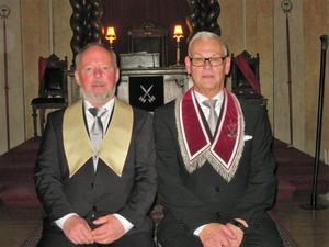 Broder Jonas Rydén och ÖM Karl-Erik Norin.