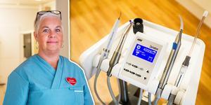 Tandhygienisten Maria Uddas vill satsa på en mobil verksamhet med hembesök.
