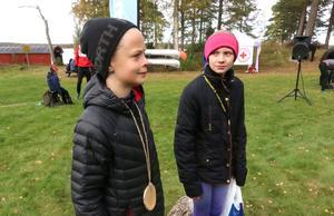 Frank Backéus, Örebro, och Kim Semstrand, Nora, fick bösta tiden totalt i alla tre trail run.