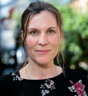 Stina Munters (C) är kommunstyrelsens ordförande i blågröna Vansbro. Foto: Lars Dafgård